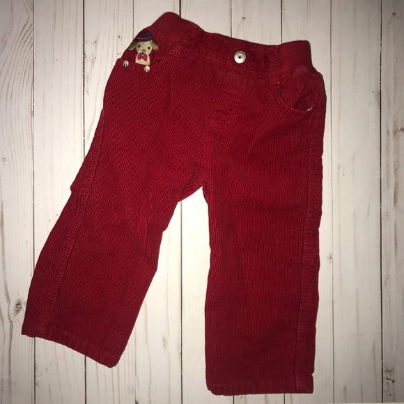 NWT Gymboree HOLIDAY CLASSICS Black Corduroy Pants 4 4T